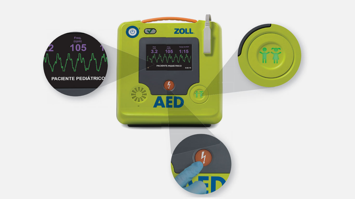 AED BLS Indumed Zoll